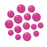 Doodlebug Design - Chunky Brads - Bubblegum, CLEARANCE