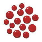 Doodlebug Design - Chunky Brads - Ladybug, CLEARANCE