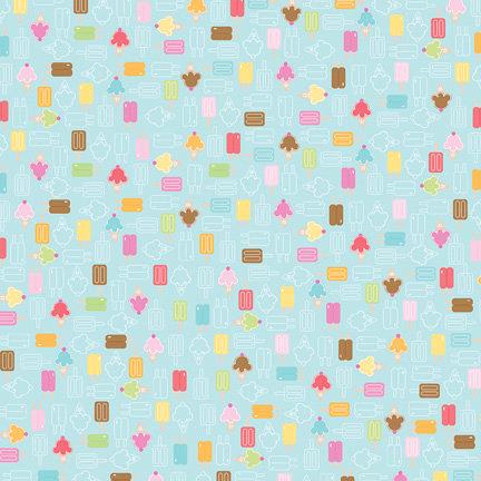Doodlebug Design - Summertime Collection - 12 x 12 Paper - You Scream Ice Cream