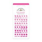 Doodlebug Design - Jewels Adhesive Rhinestones - Mini - Bubblegum