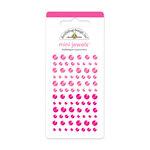 Doodlebug Design - Jewels Adhesive Rhinestones - Mini - Bubblegum
