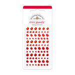 Doodlebug Design - Jewels Adhesive Rhinestones - Mini - Ladybug