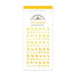 Doodlebug Design - Jewels Adhesive Rhinestones - Mini - Bumblebee