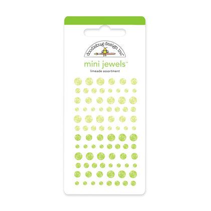 Doodlebug Design - Jewels Adhesive Rhinestones - Mini - Limeade