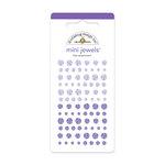 Doodlebug Design - Jewels Adhesive Rhinestones - Mini - Lilac