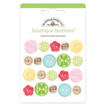 Doodlebug Design - Welcome Home Collection - Boutique Buttons - Assorted Buttons - Welcome Home