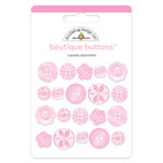 Doodlebug Design - Boutique Buttons - Assorted Buttons - Cupcake