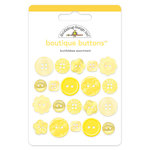 Doodlebug Design - Boutique Buttons - Assorted Buttons - Bumblebee