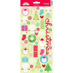 Doodlebug Design - Happy Holidays Collection - Sugar Coated Cardstock Stickers - Icons