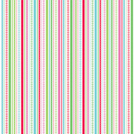 Doodlebug Design - Happy Holidays Collection - 12 x 12 Paper - Holiday Trimmings