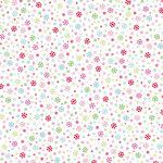 Doodlebug Design - Happy Holidays Collection - 12 x 12 Glitter Paper - Winter Wonderland