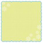 Doodlebug Design - Bon Appetit Collection - 12 x 12 Die Cut Paper - Bon Appetit