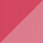 Doodlebug Design - Petite Prints Collection - 12 x 12 Double Sided Paper - Daisy Stripe Ladybug