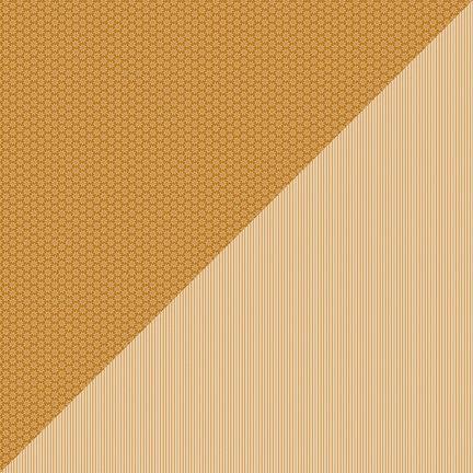 Doodlebug Design - Petite Prints Collection - 12 x 12 Double Sided Paper - Daisy Stripe Bon Bon