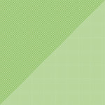 Doodlebug Design - Petite Prints Collection - 12 x 12 Double Sided Paper - Dot Grid Grasshopper
