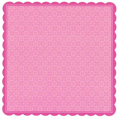 Doodlebug Design - Sweet Love Collection - 12 x 12 Die Cut Paper - Sweet Love Doodle