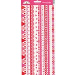 Doodlebug Design - Sweet Love Collection - Sugar Coated Cardstock Stickers - Fancy Frills