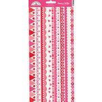 Doodlebug Design - Sweet Love Collection - Sugar Coated Cardstock Stickers - Fancy Frills