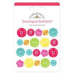Doodlebug Design - Nifty Notions Collection - Boutique Buttons - Assorted Buttons - Nifty Notions