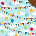 Doodlebug Design - Birthday Celebration Collection - 12 x 12 Double Sided Paper - Surprise Party