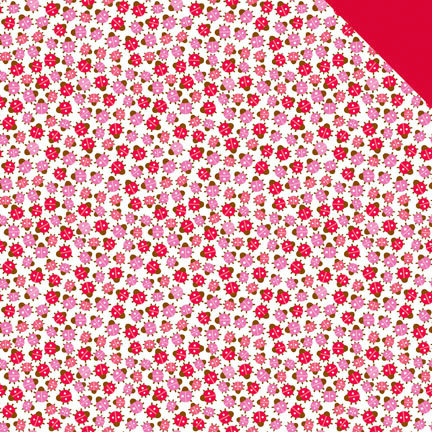 Doodlebug Design - Ladybug Garden Collection - 12 x 12 Double Sided Paper - Lots O' Ladies