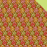 Doodlebug Design - Ladybug Garden Collection - 12 x 12 Double Sided Paper - Daisy Days