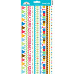 Doodlebug Design - Birthday Celebration Collection - Cardstock Stickers - Fancy Frills