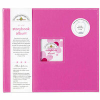 Doodlebug Design - 12 x 12 Storybook Album - Bubblegum