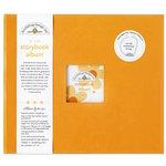 Doodlebug Design - 12 x 12 Storybook Album - Tangerine