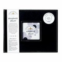 Doodlebug Design - 8 x 8 Storybook Album - Beetle Black