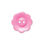 Doodlebug Design - Oodles - Buttons - Flower - 19 mm - Cupcake