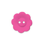 Doodlebug Design - Oodles - Buttons - Flower - 19 mm - Bubblegum 2