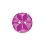 Doodlebug Design - Oodles - Buttons - Round - 19 mm - Plum