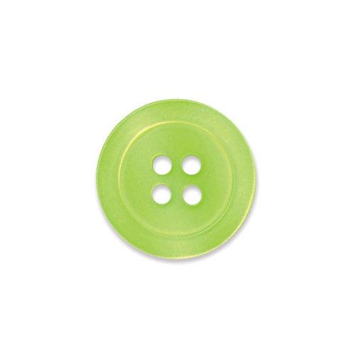 Doodlebug Design - Oodles - Buttons - Round - 19 mm - Limeade 3
