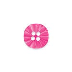 Doodlebug Design - Oodles - Buttons - Round - 15 mm - Hot Pink