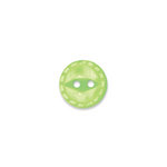 Doodlebug Design - Oodles - Buttons - Round - 13 mm - Limeade
