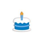 Doodlebug Design - Oodles - Braddies - Sweet Cakes - Blue Jean