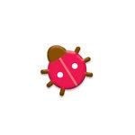 Doodlebug Design - Oodles - Braddies - Little Ladies - Ladybug