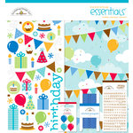 Doodlebug Design - Birthday Celebration Collection - Essentials Kit