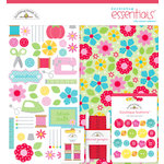Doodlebug Design - Nifty Notions Collection - Essentials Kit