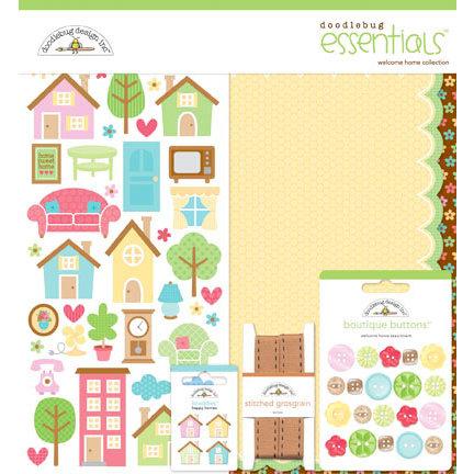 Doodlebug Design - Welcome Home Collection - Essentials Kit