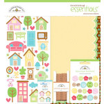 Doodlebug Design - Welcome Home Collection - Essentials Kit