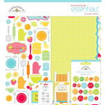 Doodlebug Design - Bon Appetit Collection - Essentials Kit