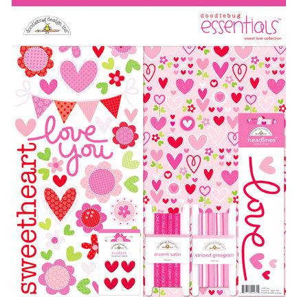 Doodlebug Design - Sweet Love Collection - Essentials Kit