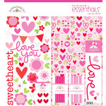 Doodlebug Design - Sweet Love Collection - Essentials Kit