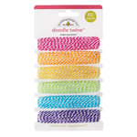 Doodlebug Design - Fairy Tales Collection - Doodle Twine - Bright Assortment