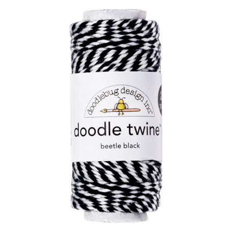 Doodlebug Design Beetle Black Twine