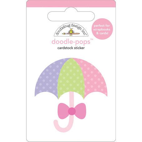 Doodlebug Design - Doodle-Pops - 3 Dimensional Cardstock Stickers - Showers