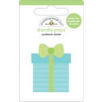 Doodlebug Design - Doodle-Pops - 3 Dimensional Cardstock Stickers - Surprise!