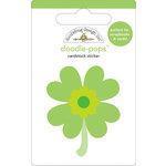 Doodlebug Design - Doodle-Pops - 3 Dimensional Cardstock Stickers - Lucky